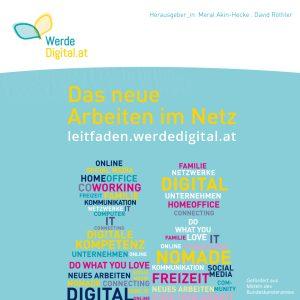 """Cover Leitfaden """"Das neue Arbeiten im Netz"""""""