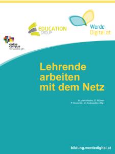 """Cover """"Lehrende arbeiten mit dem Netz"""""""